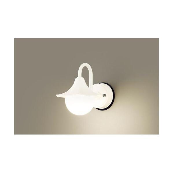 パナソニック LEDポーチライト40形電球色 長さ (cm):21.幅(cm):21.8.高さ(cm):27.7 LGW85220K