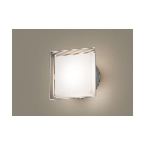 パナソニック LEDポーチライト40形電球色 長さ (cm):21.3.幅(cm):21.3.高さ(cm):10.8 LGWC80301LE1