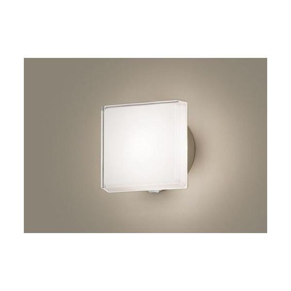 パナソニック LEDポーチライト40形電球色 長さ (cm):18.5.幅(cm):18.5.高さ(cm):10.6 LGWC80305LE1