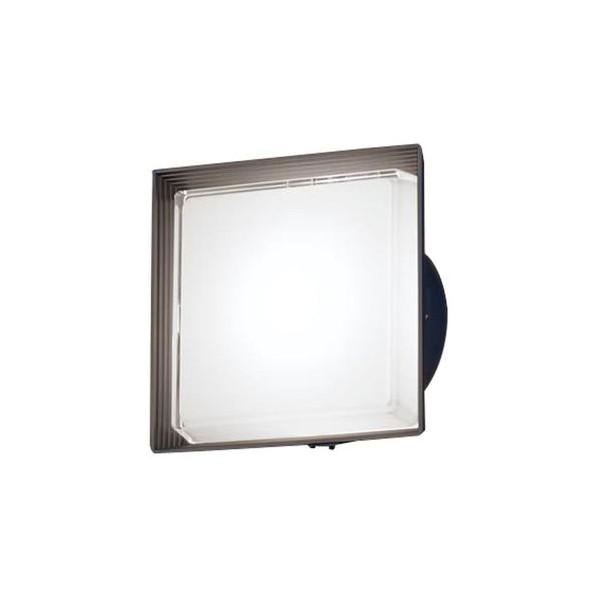 パナソニック LED ポーチライト 壁直付型 40形 昼白色 長さ (cm):24.7.幅(cm):24.7.高さ(cm):13.5 LGWC80322LE1
