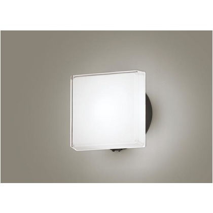 パナソニック LED ポーチライト 壁直付型 40形 昼白色 長さ (cm):24.7.幅(cm):24.7.高さ(cm):13.5 LGWC80327LE1