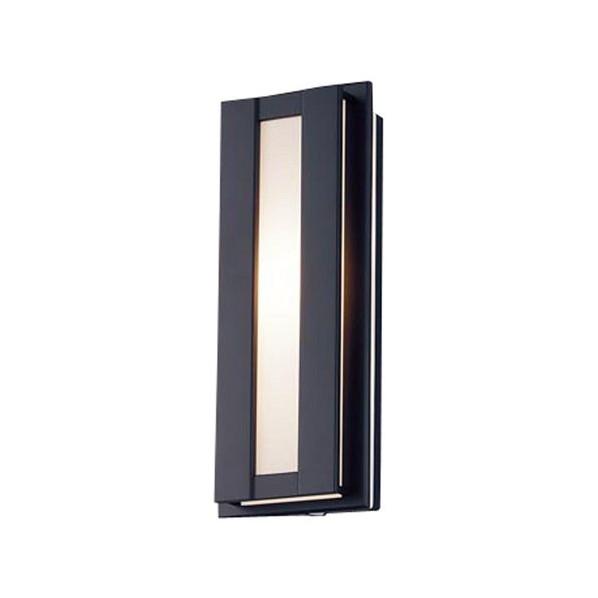 パナソニック LED ポーチライト 壁直付型 40形 電球色 長さ (cm):40.幅(cm):20.高さ(cm):15 LGWC80416LE1