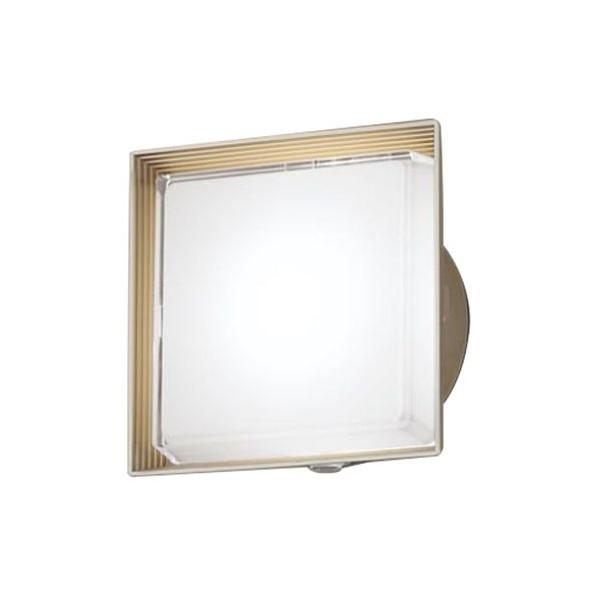 パナソニック LED ポーチライト 壁直付型 40形 昼白色 長さ (cm):24.7.幅(cm):24.7.高さ(cm):13.5 LGWC81320LE1