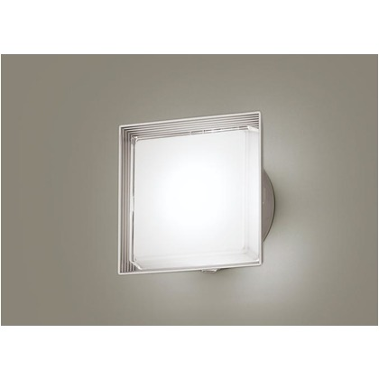 パナソニック LED ポーチライト 壁直付型 40形 昼白色 長さ (cm):24.7.幅(cm):24.7.高さ(cm):13.5 LGWC81321LE1