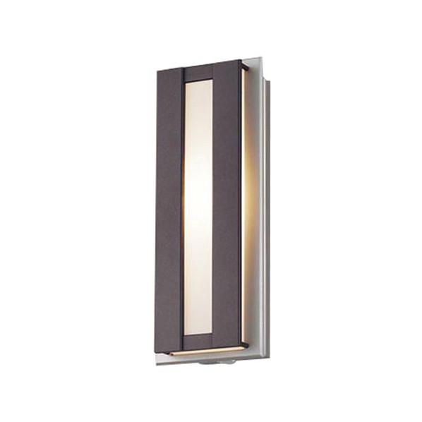パナソニック LED ポーチライト 壁直付型 40形 電球色 長さ (cm):40.幅(cm):20.高さ(cm):15 LGWC81415LE1