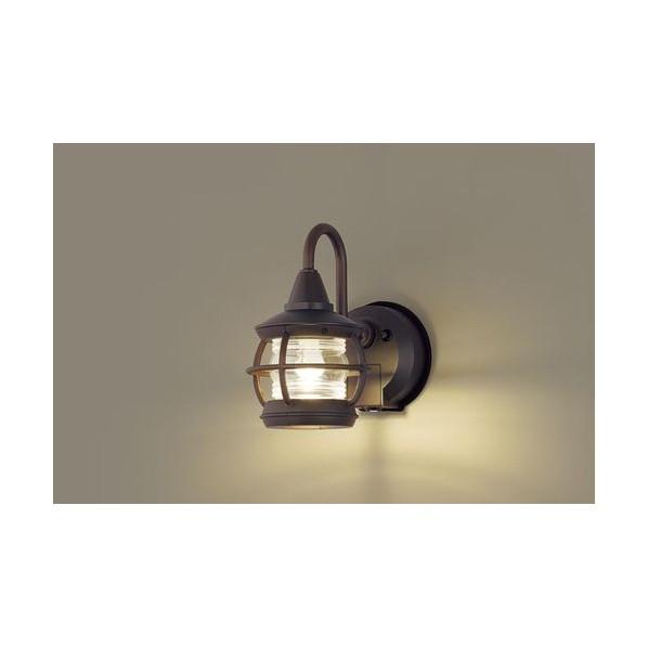 パナソニック LEDポーチライト40形電球色 長さ (cm):15.3.幅(cm):25.2.高さ(cm):27.5 LGWC85216K