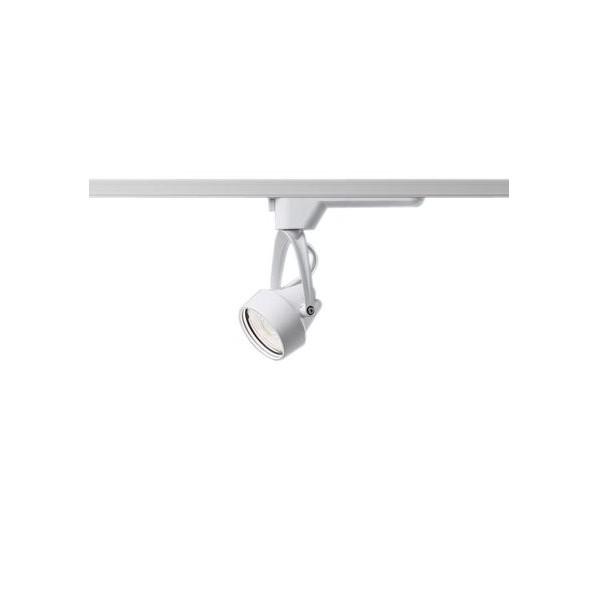 パナソニック 配線ダクト取付型LED(電球色)スポットライト ビーム角34度・広角タイプ HID35形1灯器具相当 長さ (cm):20.幅(cm):18.高さ(cm):7.6 NNN04322WLE1