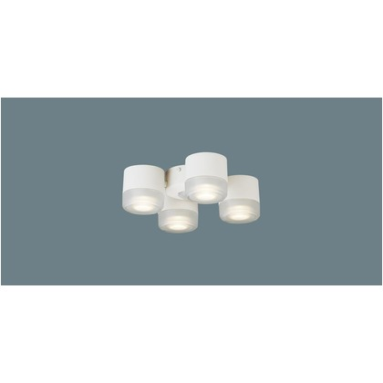 パナソニック LED シャンデリア シーリングファン専用 60形 ×4 集光 電球色 長さ (cm):30.5.幅(cm):30.5.高さ(cm):14.7 SPL5475LE1