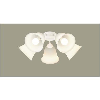 パナソニック LED シャンデリア シーリングファン専用 100形 ×5 電球色 長さ (cm):41.5.幅(cm):39.7.高さ(cm):30.3 SPL5540
