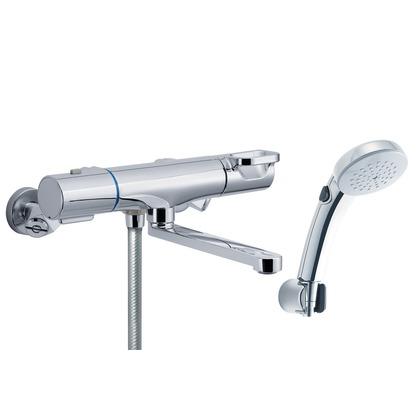 LIXIL 壁付サーモシャワーバス水栓 22.6×34.2×13.7 RBF-814W LIXIL INAX イナックス 浴室用 バス 風呂 混合水栓 混合栓 水栓 水栓金具 サーモ サー