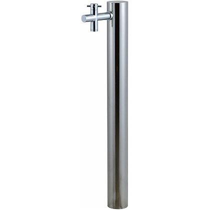 SENSUI(泉水) ウォーターポスト1口(水栓柱) 鏡面 φ89.1×H1180mm 325G-1 ガーデン水栓