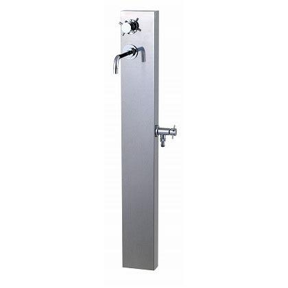 SENSUI(泉水) I(アイ)スタイル(水栓柱) 鏡面 外寸:W220×D290×H118mm 327G ガーデン水栓