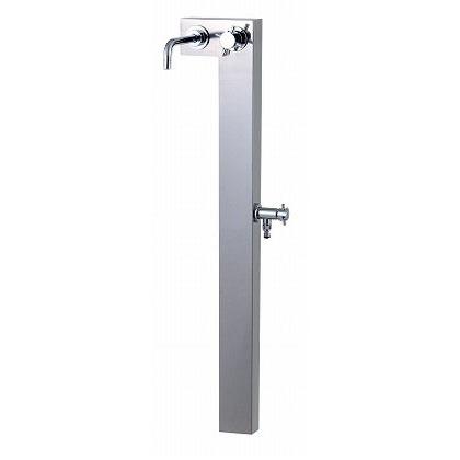 SENSUI(泉水) L(エル)スタイル(水栓柱) 鏡面 外寸:W265×D290×H118mm 328G? ガーデン水栓