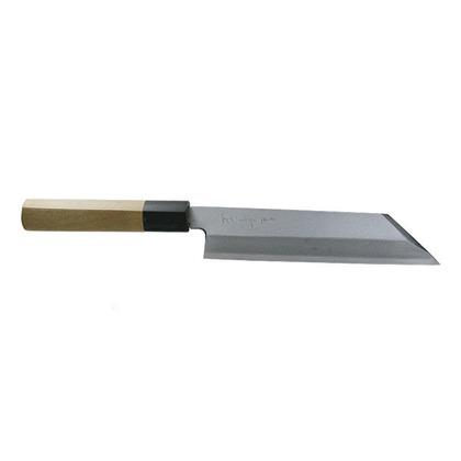 関兼常 本匠 兼正 Gシリーズ 霞研 水牛口付 朴柄 和包丁 むきもの 全長310mm、刃渡り180mm G-61