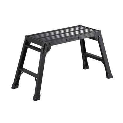 長谷川工業 アルミ足場台ブラックDRXB ブラック H520×W390×D1000mm DRXB-0752 ブラック