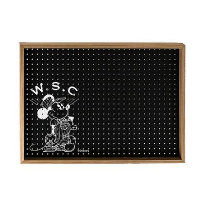Workson WSC有孔ボードB3 ブラック H364mm×515mm×D100mm テープ ミッキーマウス ディズニー