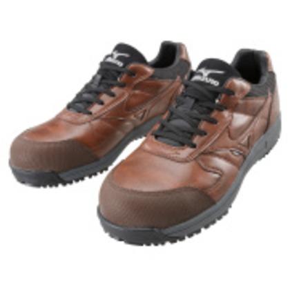 ミズノ 作業靴 オールマイティWF ブラウン×ブラック 27.0cm C1GA180055270