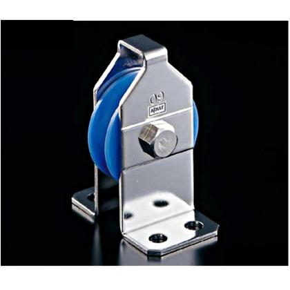 AIOULE 固定ブロックBT型 車溝幅:26mm。使用ロープ径:~28mm BTK-100MC 滑車 シープ ロープ