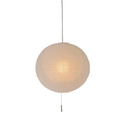 彩光デザイン 日本製和紙照明 和風照明 1灯ペンダントライト 二重提灯 bud 電球別売 小梅白in小梅白 Φ390mm×H370mm SPN1-1107