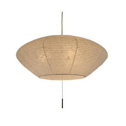 彩光デザイン 日本製和紙照明 和風照明3灯ペンダントライト spin 電球別売 美濃粕紙 Φ620×H260 SPN3-1113