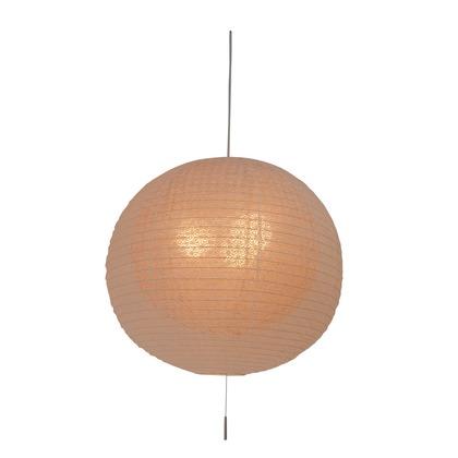 彩光デザイン 日本製和紙照明 和風照明3灯ペンダントライト 二重提灯 bud 電球別売 麻葉白in麻葉煉瓦 Φ550mm×H500mm SPN3-1102