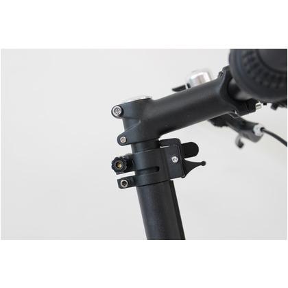 ミムゴノーパンク20インチ折畳自転車6段ギアブルーMG-G206NF-BLACTIVEPLUS911折りたたみ自転車