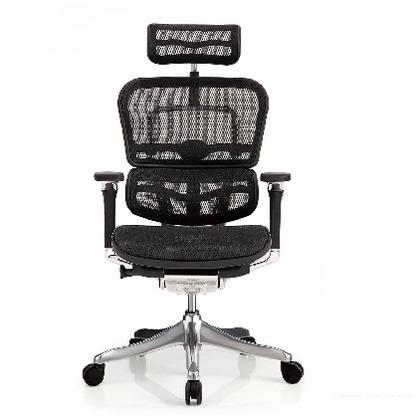 エルゴヒュ-マン プロ ハイタイプ ブラック 幅655×奥行き660×高さ1145(mm) EHP-HAM KM-11 オフィスチェア