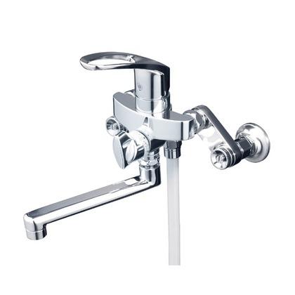 KVK 楽締めソケット付シングルレバー式シャワー(寒冷地用) KF5000ZTHA 混合水栓