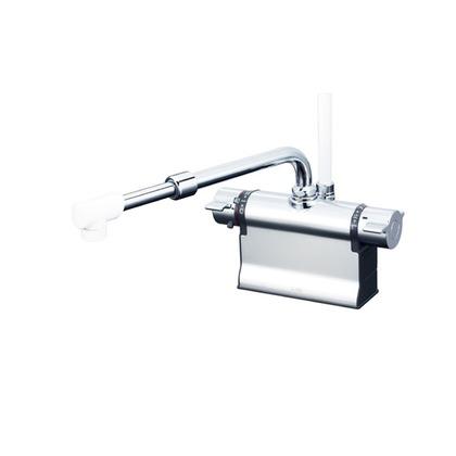 KVK デッキ形サーモスタット式シャワー(伸縮自在パイプ付) KF3011TSJ 混合水栓