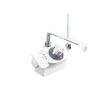 KVK デッキ形サーモスタット式シャワー(シャワー左側) KF821R 混合水栓