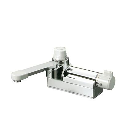 KVK デッキ形定量止水付サーモスタット式混合栓 KM298G 混合水栓
