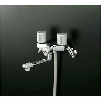 KVK 一時止水付2ハンドルシャワー(寒冷地用) KF141G3W 混合水栓