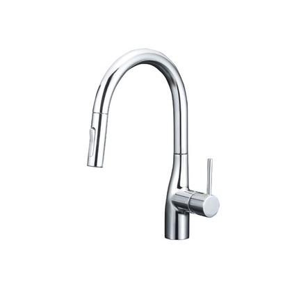 KVK グースネックシングルレバー式シャワー付混合栓(eレバー)(寒冷地用) KM6061ZEC キッチン