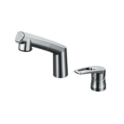 KVK 洗面用シングルレバー(湯側回転角度規制)(寒冷地用) KM5271ZTA 洗面