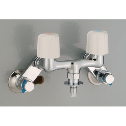 KVK 吸気弁付洗濯混合栓 KM33WUK 給水栓