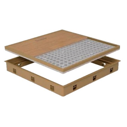 JOTO 高気密型床下点検口 アイボリー 606mm×606mm SPF-R6060F12 IV 床下点検口