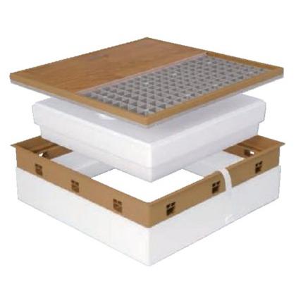 JOTO SPF-R60F12-BL3 高気密型床下点検口 ミディアム 606mm×606mm 606mm×606mm SPF-R60F12-BL3 床下点検口 床下点検口, ガーデンマート:da762f55 --- jpworks.be