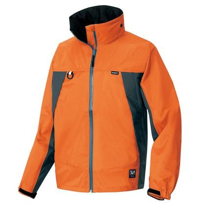 アイトス 全天候型ジャケット 063オレンジ×チャコール 5L 56301-063-5L