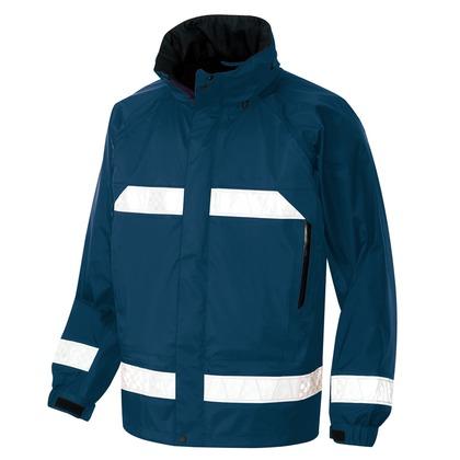 アイトス 全天候型リフレクタージャケット(男女兼用) 008ネイビー S 56303-008-S