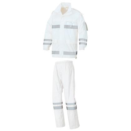 アイトス レインウエア(FS-6000) 001ホワイト 3L 562403-001-3L