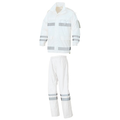 アイトス レインウエア(FS-6000) 001ホワイト 5L 562403-001-5L