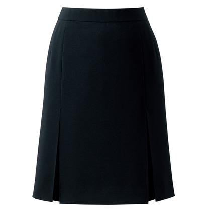 アイトス プリーツスカート 099ブラック 25 HCS3501-099-25