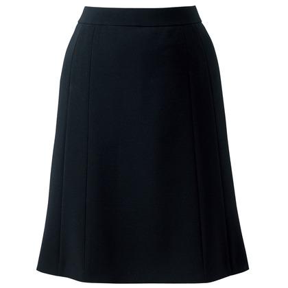 アイトス フレアースカート 099ブラック 7 HCS3502-099-7