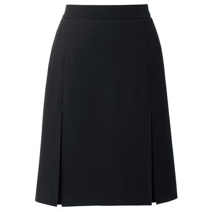 アイトス プリーツスカート 099ブラック 7 HCS4001-099-7