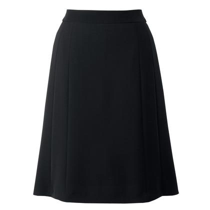 アイトス フレアースカート 099ブラック 25 HCS4002-099-25