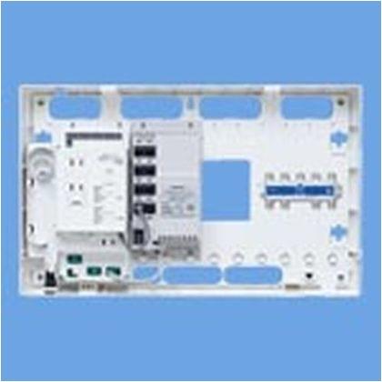 パナソニック マルチメディアポートS ギガ8分配器 WTJ5366 住宅・配線・電設資材