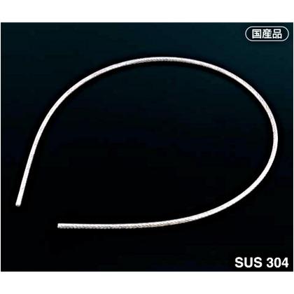 AIOULE 被覆ワイヤロープ 被膜:クリア透明 ワイヤ構成:7×7。長さ:100M HS-2041 被膜 コーティング ワイヤ 0