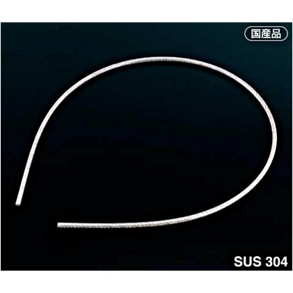 AIOULE 被覆ワイヤロープ 被膜:クリア透明 ワイヤ構成:7×7。長さ:50M HS-2045 被膜 コーティング ワイヤ 0