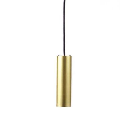 MotoM(モトム) 円筒ペンダントライト(ダクトプラグ) ゴールド 全長40~110cm MPN05-GO