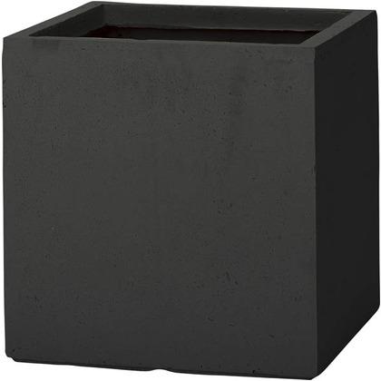 ユニソン ベータ キューブプランター L ブラック 652421230